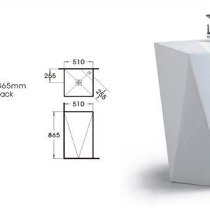 Floor Standing Basin