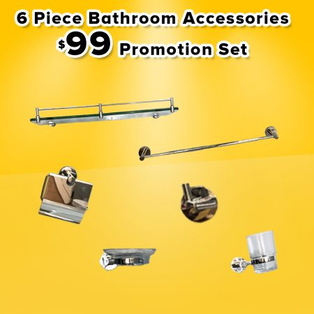 Mobili $99 Promotion(Barthroom Accessories)